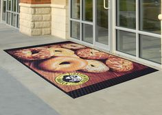 Custom Floor Mats for Businesscan make a great statement for business, military, schools, churches or any home. Free Samples & Artwork.