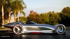 Mercedes Benz Silver Lightning #1