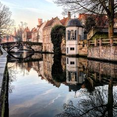 "adore-europe: "" Bruges by gidbrugge  ""[More Europe here →]"" """