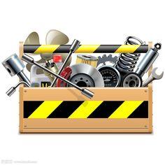 维修工具箱设计素材