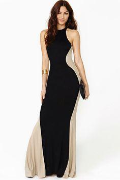 Evening Dress #slimming effect #black dress