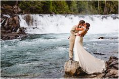Haley & Matt - July 1, 2017 - Glacier National Park Elopement - Kalispell Wedding and Family Photographer - 406-871-3524 - Marianne Wiest Photography