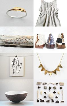 Gold-Kissed Linen by Heather Torre on Etsy--Pinned with TreasuryPin.com