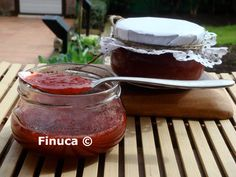 Las Recetas de Finuca: Mermelada de fresa sin azúcar Salsa, Pudding, Jar, Beef, Desserts, Food, Juices, Breakfast, Food Recipes