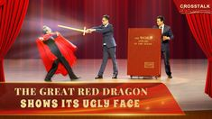 """Christian Crosstalk """"The Great Red Dragon Shows Its Ugly Face"""" (English ..."""