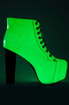 The Lita Glow in the Dark Shoe with Black Heel.  Holy shizzballs! Was on my wishlist forever!
