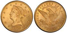 1874 Liberty Head ☆ Více informací o výstavě Flowing Hair naleznete na oficiální stránce http://www.flowing-hair.cz/