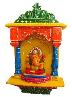 Traditional #Ganesh Zarukho #handicrafts by #craftshopsindia