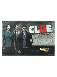 Supernatural Clue Game,