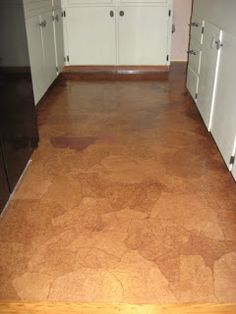 Paper Bag Flooring   Fun, Creative, Cheap DIY I Might Have To Try This