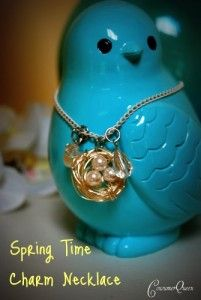 Great Mother's Day gift — DIY Spring Necklace tutorial from #Walmart mom Melissa & Consumer Queen.