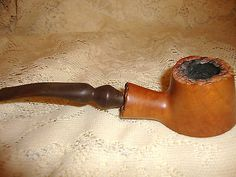 VINTAGE WOOD SMOKING PIPE THE CONTINENTAL MADE IN FRANCE