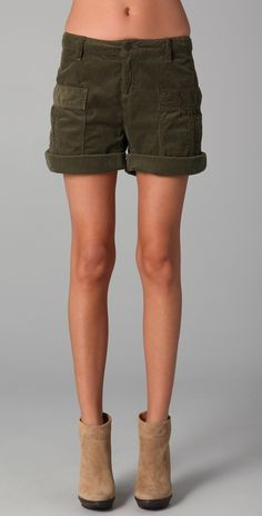 Genetic Denim cord shorts