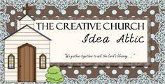 Great ideas for decorating for church activities and full of ideas for children's ministry.
