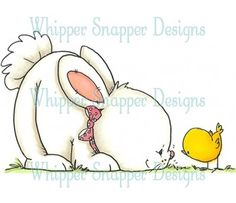 Whipper Snapper~ Bunny with Chick