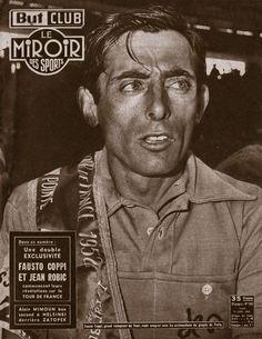 Tour de France 1952. 23^Tappa, 19 luglio. Vichy > Parigi. Fausto Coppi (1919-1960) [Le Miroir de Sports]