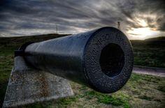 Civil War Cannon @ Sunset