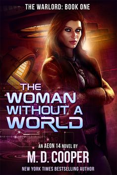 The Woman Without a World (The Warlord Book Fantasy Book Covers, Book Cover Art, Fantasy Books, The Warlord, Sci Fi Horror, Science Fiction Books, New York Times, Book 1, Bestselling Author