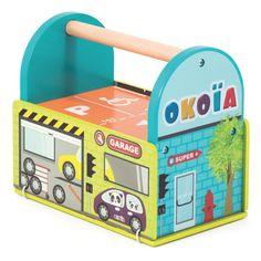 Garage avec 1 voiture – La Grande Récré   vente de jouets et jeux Jouets  enfant 6 à 8 ans d234665fd36c
