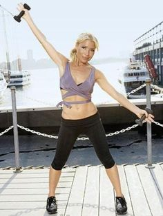 How does Madonna get in shape for the holidays? She has exercise guru Tracy Anderson on speed dial. Tracy Anderson Arms, Tracy Anderson Workout, Tracy Anderson Method, Excercise, Exercise Moves, Daily Exercise, Celebrity Bodies, Toning Workouts, Pilates Workout