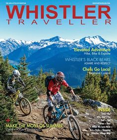 Summer is here!  The new Summer issue of Whistler Traveller is here!  Find it at local hotels, magazine racks and info centres or online.  Now you can start planning your summer in Whistler!