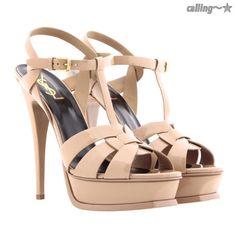 セレブ愛用商品! Saint Laurent★Tribute Sandals