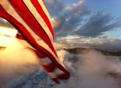 I love our Flag...  wish every home/yard in America had one flying high... what a sight that would be!