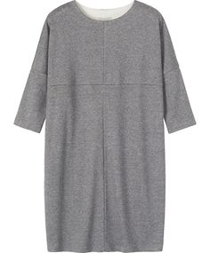 Home Suna Tunic in Jersey And Tees Poplin Dress, Simple Outfits, Beautiful Outfits, Casual Wear, Lounge Wear, Work Wear, Tunic Tops, Shirt Dress, How To Wear