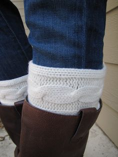 Boot SocksBoot CuffsFull boot Sock Included by sugarbshop on Etsy, $24.00