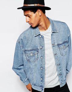 Die 22 besten Bilder von Jeansjacken   Man style, Man fashion und ... 8a4c3b59e9