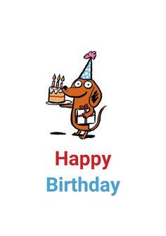 کارت پستال Happy، Birthday - انگلیسی - تولدت مبارک
