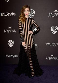 Pin for Later: Les After des Golden Globes Étaient Tout Aussi Glamour Que le Tapis Rouge Jaime King