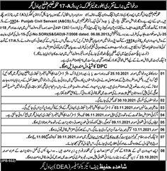 Education Department Junior Clerk Jobs in Bahawalnagar 2021
