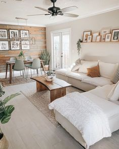 Living Room Colors, Rugs In Living Room, Home And Living, Living Room Designs, Living Room White Walls, Diy Home Decor On A Budget Living Room, Modern Living Room Decor, Modern Study Rooms, Earthy Living Room