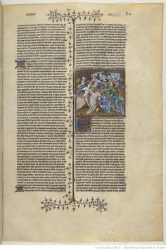 Love the detail on each horse. From    Lancelot-Graal. 2° « L'Enserrement de Merlin » de « ROBERT » [DE BORRON]