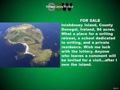 Dreams of Ireland...and the lottery