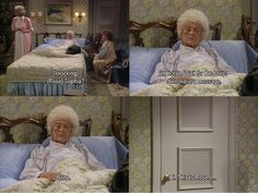 OMG this has to be one of my favorite scenes from golden girls!!!!