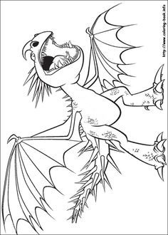 Coloringsco How To Train Your Dragon Coloring Pages