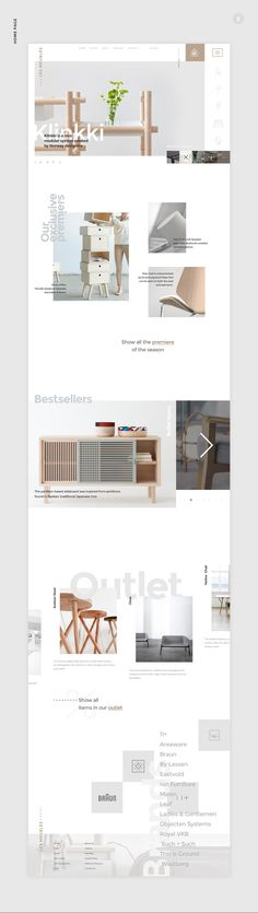 Les Meublés is a worldwide furniture store based in Italy. Minimalistic style love is deeply focused in they mind that allows them to select only best minimalism style furniture from all over the world.Attention, it's a free PSD!!! You can use it for pe…