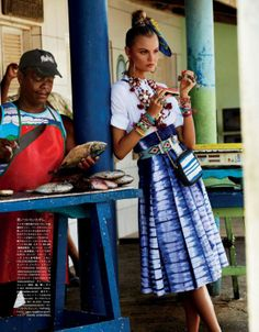 luv that skirt! vogue nippon fashion editorial may 2013 beach