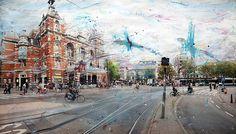 Amstel Gallery . Alberto Sanchez . Masterthief #1