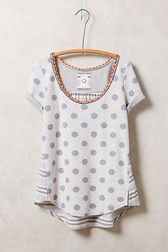 Tipperary Tee - anthropologie.com - love the subtle colors on the neckline