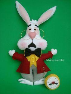 Alice feltro- coelho