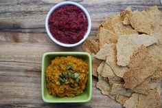 Paleo Beetroot Hummus. via @themmsisters