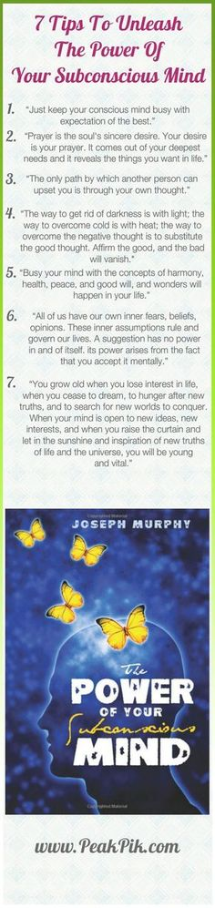 Daily Tips And Motivation   Power Of Positive Thinking-How To Unleash Your Subconscious Mind's Power