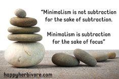 Minimalist Monday: Declutter Your Way to a Zen Home (My New Book!) | Happy Herbivore