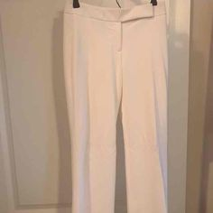 "WHBM White ""Legacy"" Trousers! Size 00R - Mercari: Anyone can buy & sell"