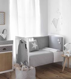 habitacion bebe - mod. stars de belino Baby Boy Bedding, Baby Bedroom, Baby Room Decor, Nursery Room, Girls Bedroom, Boy Girl Room, Baby Boy Rooms, Baby Boy Nurseries, Baby Cribs