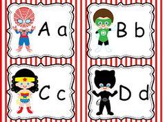 no way-- superhero alphabet cards freebie LOL