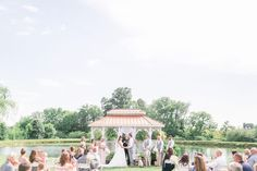 We were delighted to celebrate the love of Ashley and Travis this past weekend at @twincedarfarm!! The Ceremony was breathtaking!! #RosasCatering